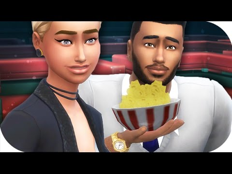 THE SIMS 4 // CITY LIVING | PART 27 — MOVIE DATE  ❤