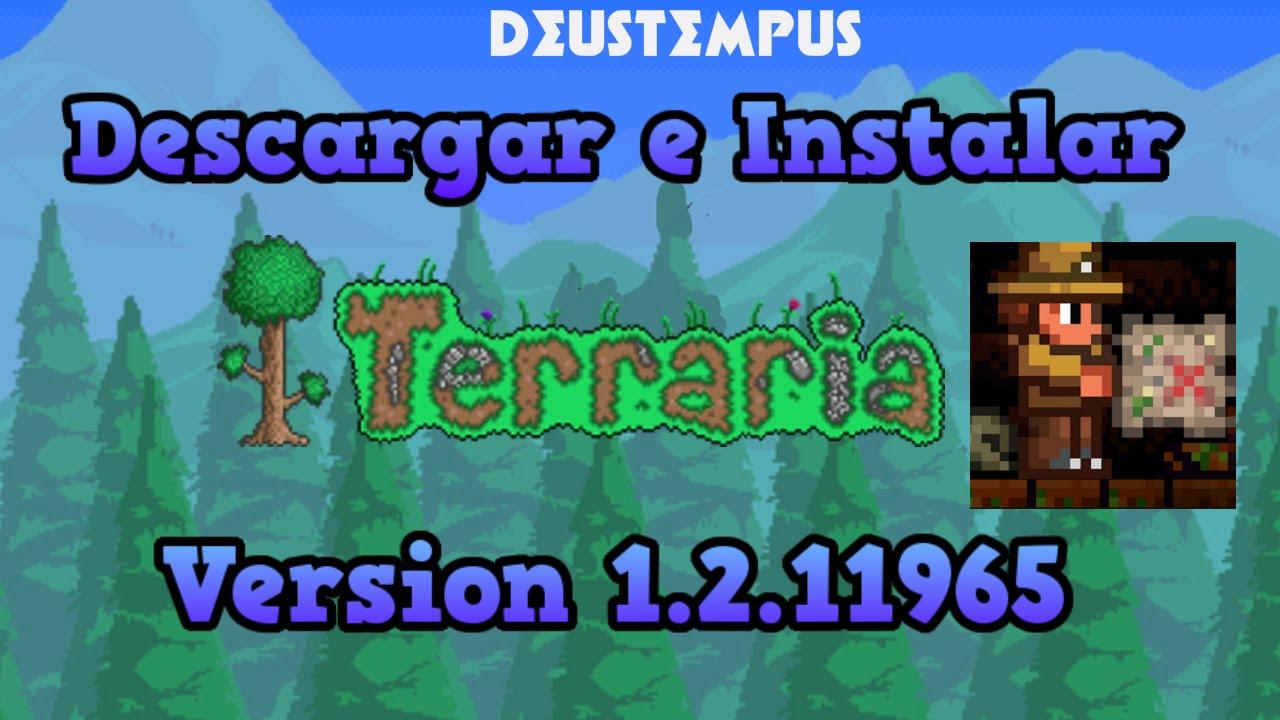Descargar Terraria Ultima Versión 1.3.5.3 -2018- - YouTube