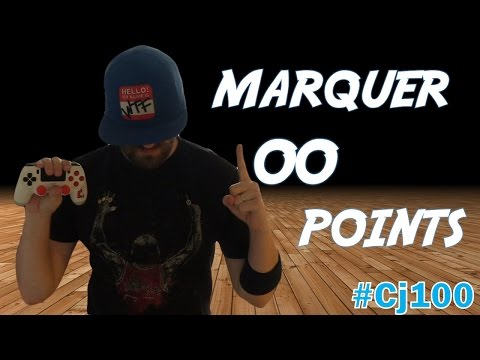 Marquer 100 points Mon défi #Cj100