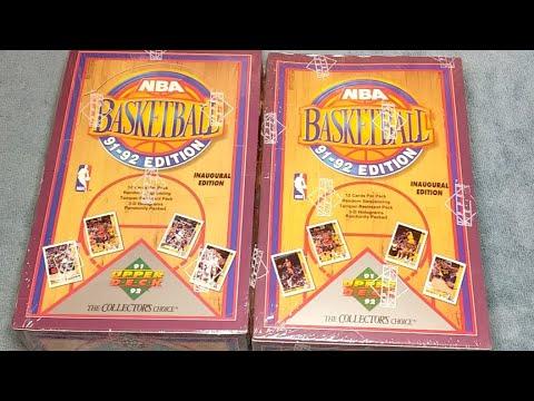 1991-92-upper-deck-basketball-🏀-opening-jordan-cards??