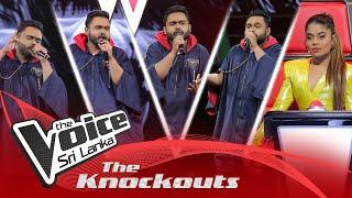 Nirmal Dhananjaya | Wilpattuwe (විල්පත්තුවේ) | The Knockouts | The Voice Sri Lanka Thumbnail