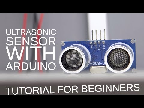 HC-SR04 ultrasonic sensor with Arduino (Quick tutorial for beginners)