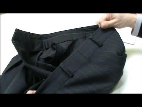 d0bc1cd58 CAMBIAR TALLA a un pantalón de vestir de la CINTURA - YouTube