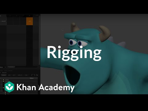 Welcome to rigging | Rigging | Computer animation | Khan Academy