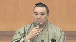 暴行問題を起こして現役を引退した大相撲の横綱日馬富士関(33)=本...