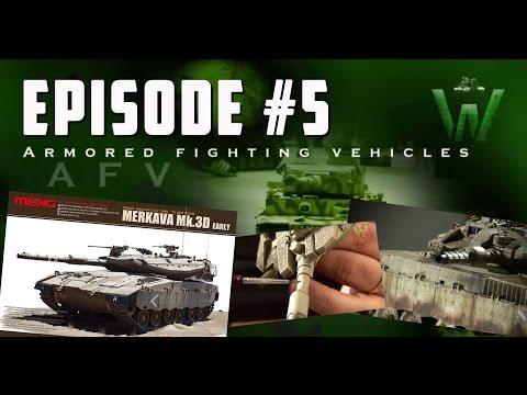 Tutorial: Meng Model Merkava Mk.3D by Juan Carlos Carmona   Warfare in Scale