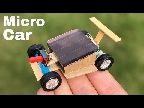 How to Make a Car - Solar Powered Car - Tutorial