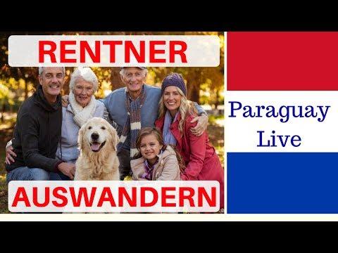 deutsche Rentner auswandern Senioren Interessen | Ruhestand und Auswanderung  #Paraguay Info