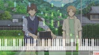 Gambar cover 【Full】劇場版 夏目友人帳 ~うつせみに結ぶ~ED - Remember in Piano Cover