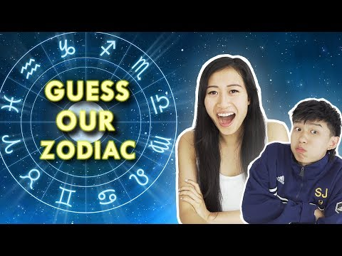 ARE SCORIPIOS REALLY EVIL? CAN SHE GUESS OUR ZODIAC SIGNS (ft. LeendaDProductions)