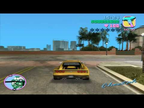 Grand Theft Auto: Vice City – Mission #50 – Sunshine Autos – Wanted List #3 – Cheetah
