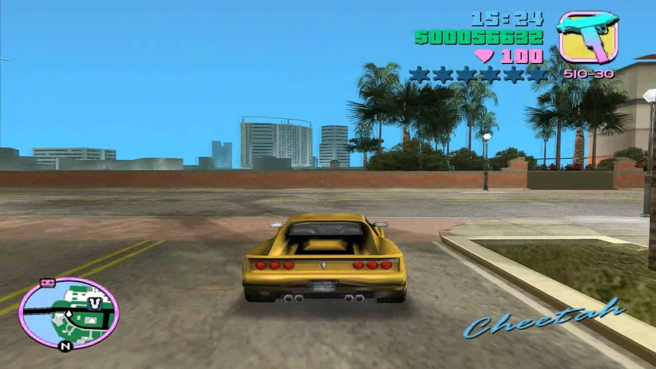 Grand Theft Auto: Vice City - Mission #50 - Sunshine Autos - Wanted List #3  - Cheetah by AddictionToGaming