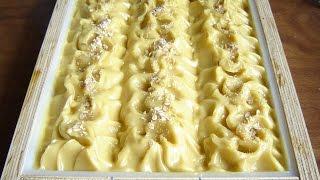 Making Omh! Oatmeal, Milk & Honey Soap (new Slab Mold)