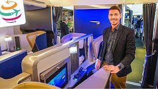 British Airways First Class 747-400 | GlobalTraveler.TV