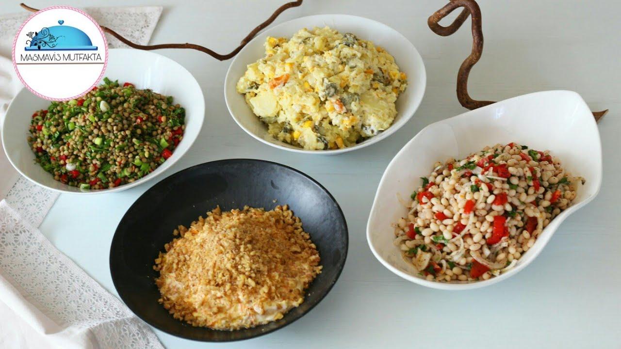 Akşam Yemeği İçin 10 Lezzetli Salata