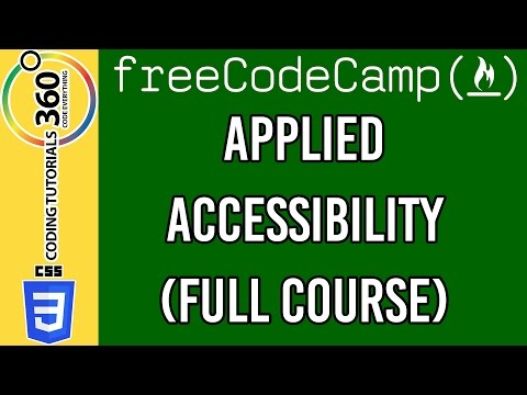 Applied Accessibility: Responsive Web Design Free Code Camp