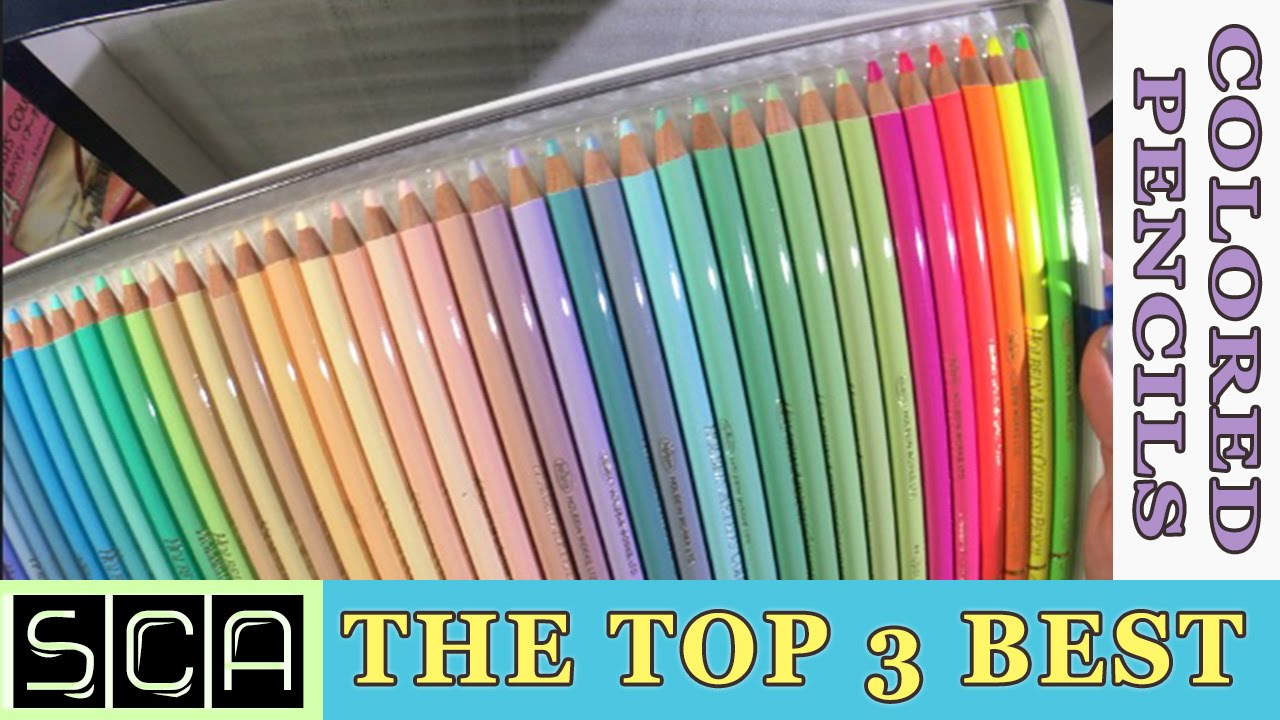 The Top 3 BEST Colored Pencils In The World!! ~ Polychromos - Caran ...