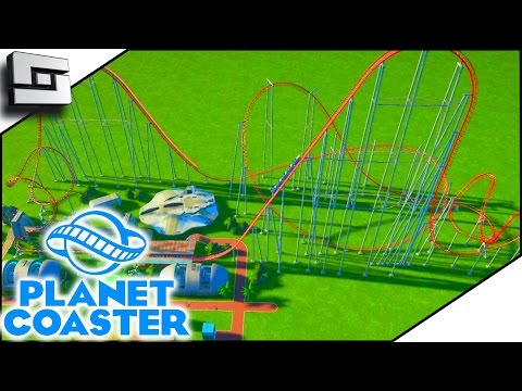SCARY ROLLER COASTER! - Planet Coaster Gameplay #4 | Sl1pg8r