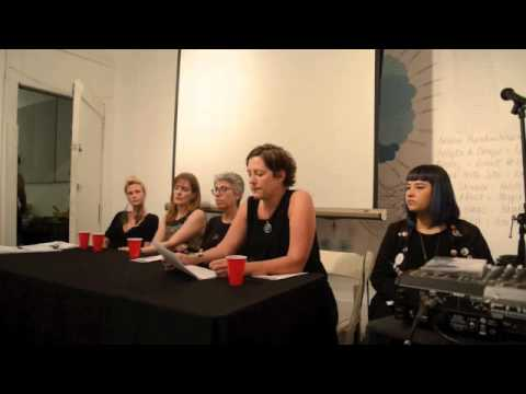Art as Ritual Discussion Panel, Applied Mythology Project's Dark Paradise Exhibit