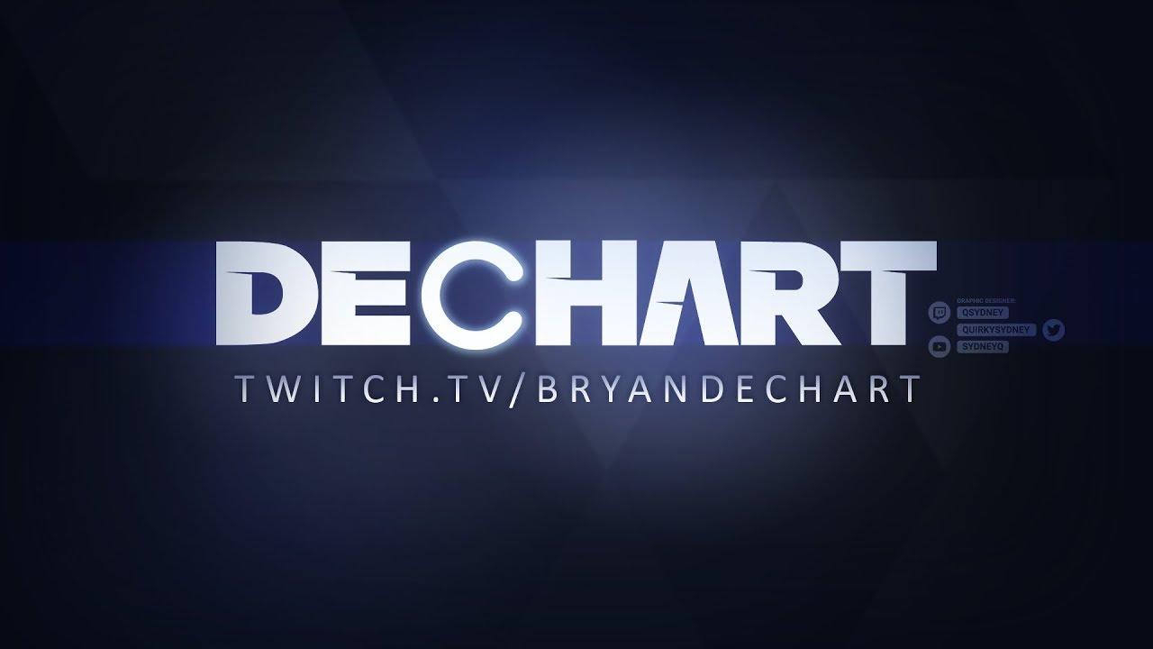 Twitch Bryan Dechart Dbh Logo Remake Graphic Design Fanart Graphic Art Design,Fractal Design Define R5 White