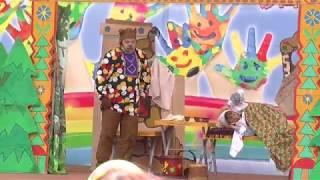 Маша и медведь   сказка  театра