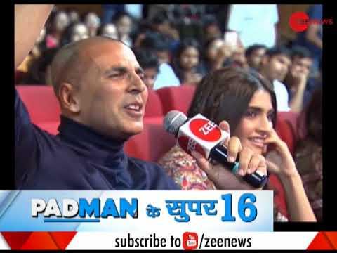 Padman and Zee News team awards 16 innovators
