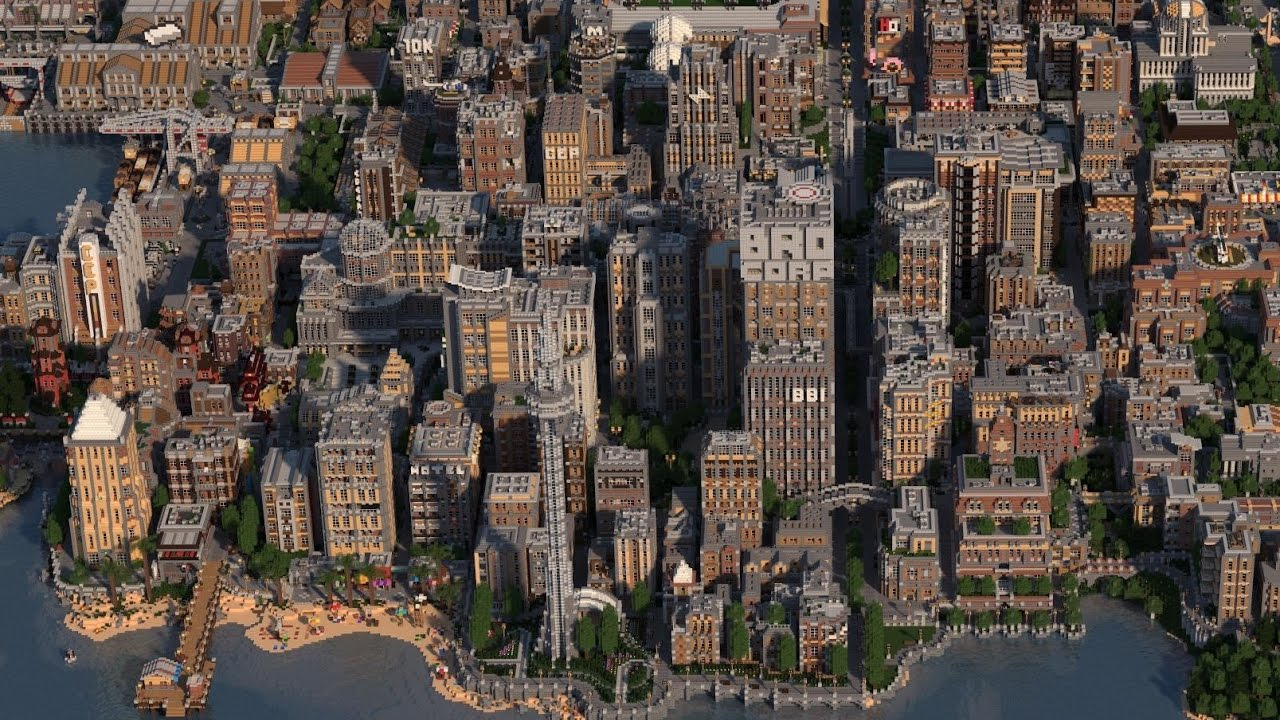 Greenfield - The Largest City In Minecraft - V0.5.1 ...