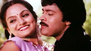Chattamtho Poratam Songs - Kancha Re Kancha - Chiranjeevi, Madhavi - Ganesh Videos