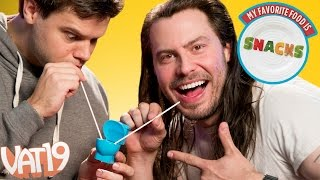 Andrew W.K. Tries Toilet Candy | MFFIS #1