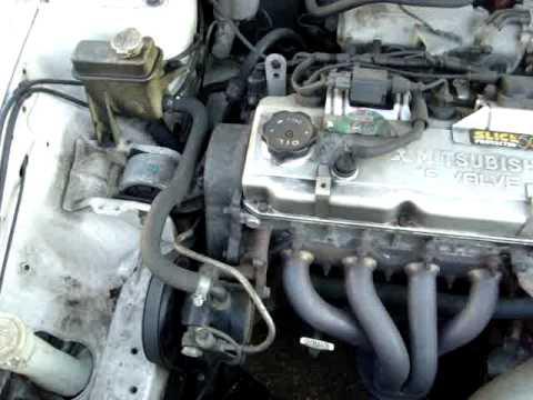 митсубиси каризма 97г в двигатель 1.6 схема