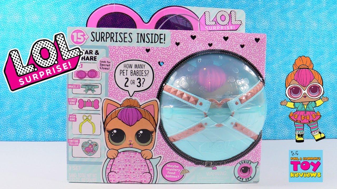 Lol Surprise Biggie Target Exclusive Neon Kitty Jumbo Pet Unboxing