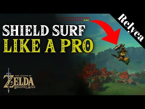 Zelda Breath of the Wild How to Shield Surf Like a Pro