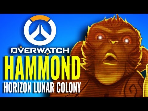 New Hero Hammond & the Horizon Lunar Colony Map (Overwatch Theory)