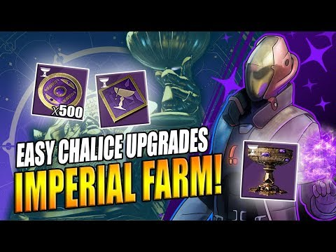 Destiny 2 | How To Farm Imperials Quickly - Chalice Of Opulence Upgrade Guide