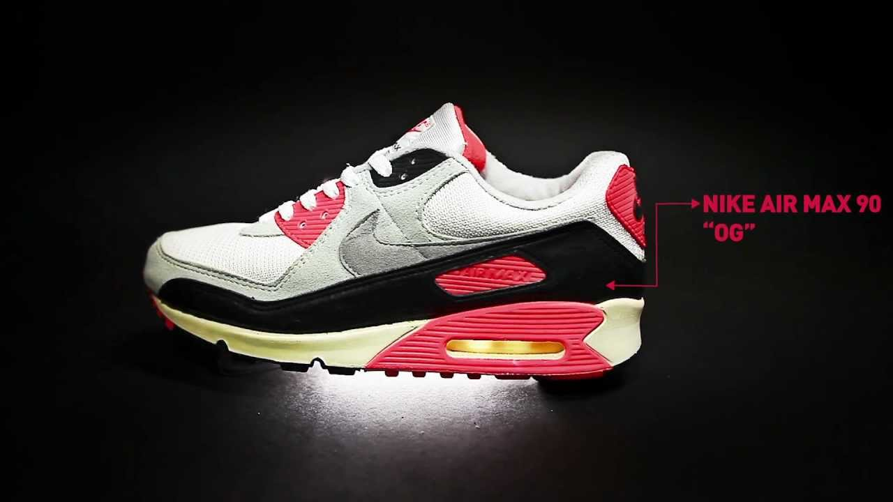 78e9342bfef3 The Evolution of Nike Air Max 90 Infrared by AFEW STORE - YouTube