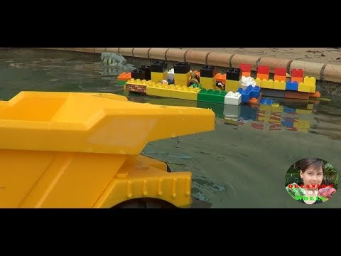Duplo Titanic And Olympic Ships And The Failed Rescue Mission Youtube