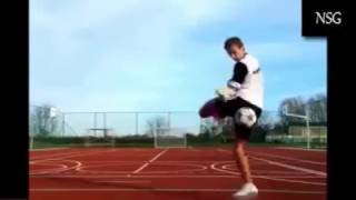 amazing american football skills and tricks ever !