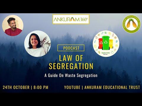 Law Of Segregation - A Guide On Waste Segregation | Ankuram Educational Trust