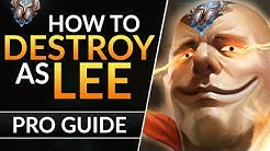 The ULTIMATE Lee Sin Guide: BEST Tips to CARRY HARD and Rank Up | League of Legends Jungle Guide