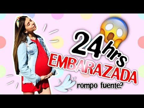 24 HORAS SIENDO UNA ADOLESCENTE EMBARAZADA! ¿ROMPO FUENTE? 😱 || Bianki Place ♡