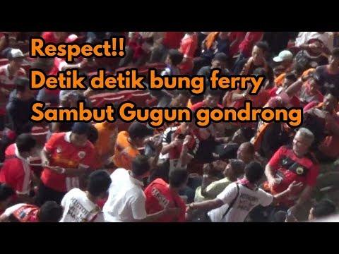 Best Momen!! Gugun Gondrong Di Sambut Bung Ferry Saat Hadir Di Laga Final Pilpres 2018