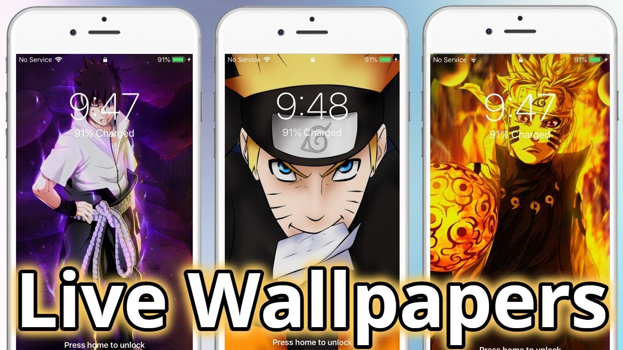Naruto Live Wallpapers 2019 Iphone Ipad Android Working 100