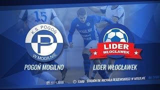 NA ŻYWO: Pogoń Mogilno - Lider Włocławek (4 liga)