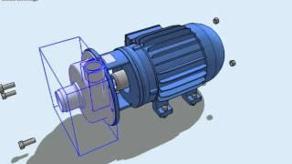 Lắp biến tần điều khiển bơm, biến tần Delta ứng dụng cho bơm nước,bien tan