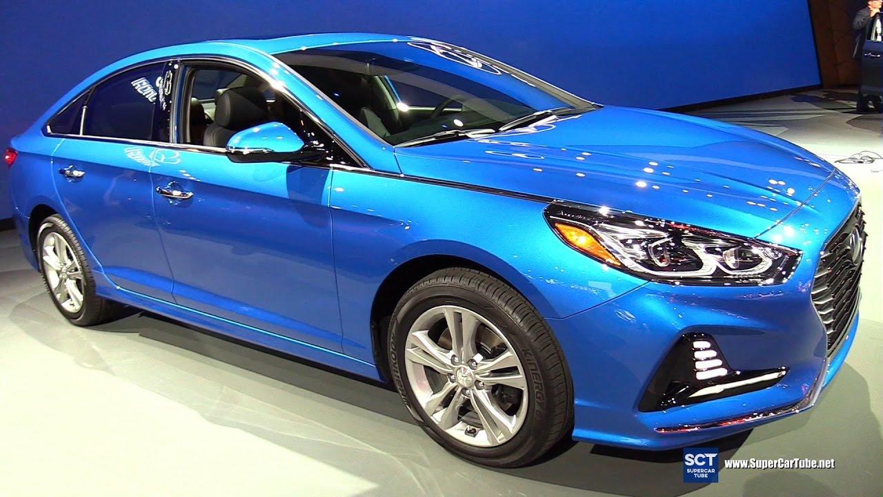 2018 Hyundai Sonata Limited Exterior And Interior Walkaround Debut At 2017 New York Auto Show