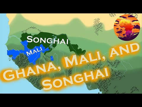 The History Of Ghana, Mali, And Songhai: Every Year: 200 BCE - 1901 CE (4k Resolution)