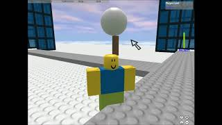 Playing the Early 2007 Roblox client