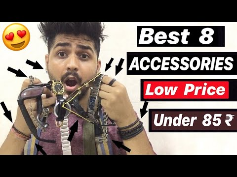 Best 8 Accessories Make You More Stylish And Attractive | Low Price Accessories For Boys And Men's