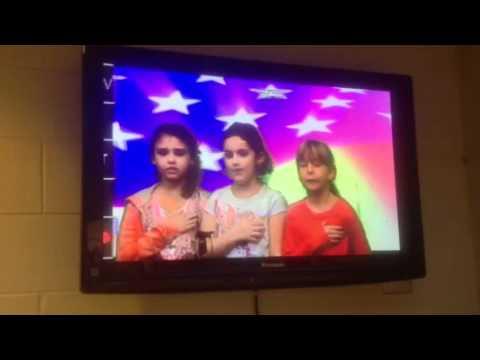 Brickey-McCloud Elementary School Pledge Of Allegiance By 2
