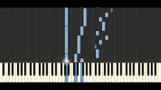Bach - Sinfonia in g minor, BWV 797 - Piano Tutorial Synthesia